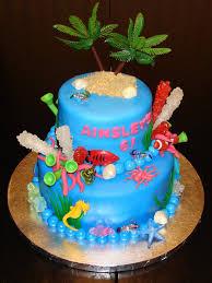 Tropical Theme Birthday Cake - archaic baseball themed birthday cakes birthday ideas baseball