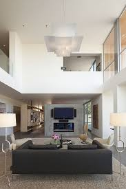 Lighting For Living Room With High Ceiling Ideas For High Ceilings