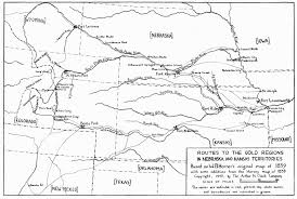 Gold Line Map Boulder Pioneer Native How They Came Gold Miner U0027s Maps Of U002759