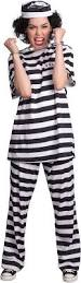 halloween inmate costume female prisoner costume buycostumes com