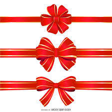 ribbon bow isolated ribbon bow vector