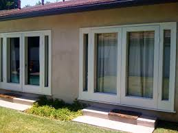Patio Doors Installation Cost Opening For A Sliding Patio Door Glass Replacement Options