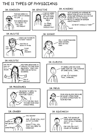 a cartoon guide to becoming a doctor the 11 types of physicians