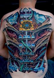 tattoo 3d mechanical 145 innovative biomechanical tattoos meanings may 2018