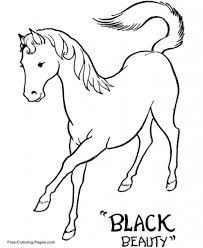 black beauty coloring pages aecost net aecost net