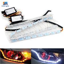 lexus ct200h led headlights popular lexus led drl buy cheap lexus led drl lots from china