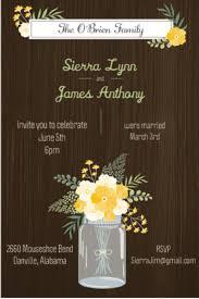 wedding invitation ideas country wedding invitations for