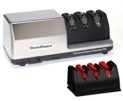 sharpening for kitchen knives electric sharpeners chefschoice