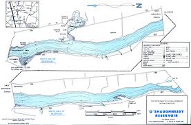Delaware Ohio Map by O U0027shaughnessy Reservoir Map From Gofishohio Com Your Premier