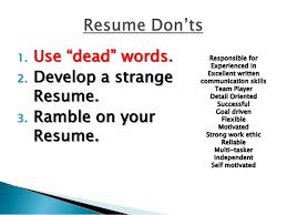 Self Motivated Resume Resumes Today
