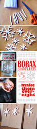easy borax snowflakes perfect advent calendar craft for kids