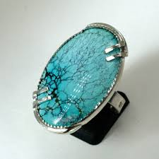 turquoise gemstone making a turquoise ring by hand earth art gem u0026 jewelry