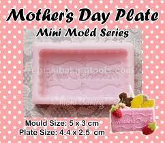 s day m m s decorating tools fondant moulds mini mould series mms054