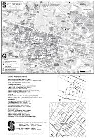 Stanford Maps Stanford University Visitor Map U2022 Mapsof Net
