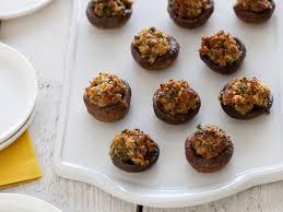 Ina Garten Hors D Oeuvres Sausage Stuffed Mushrooms Cook Diary