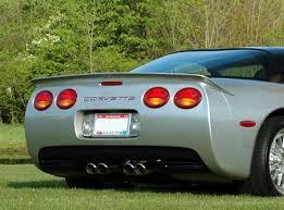corvette mods c5 c5 corvette 1997 2004 aci rear spoiler corvette mods