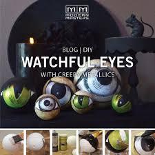 creepy halloween eyeballs modern masters cafe blog