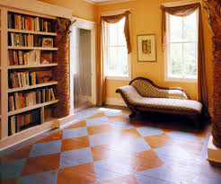 wood floor paint hall traditional with hallway outside bedrooms
