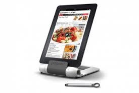 tablette pour cuisine support pour tablette spécial cuisine prépara lutrin pour