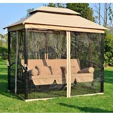 Garden Treasures Replacement Hammock by Patio Furniture Garden Patio Swingc2a0 Swing Treasures Cover For