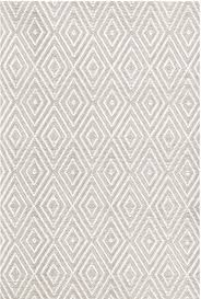Dash And Albert Diamond by Diamond Platinum U0026 White Indoor Outdoor Rug Design By Dash