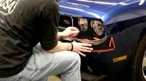 dodge challenger bumper retro usa challenger front bumper installation
