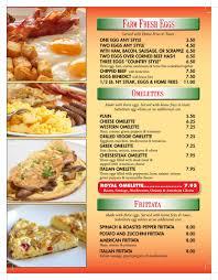 spatola u0027s pizza and italian restaurant breakfast menu