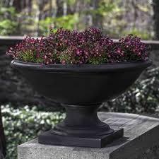 Stone Urn Planter by Low Profile Planter Wayfair