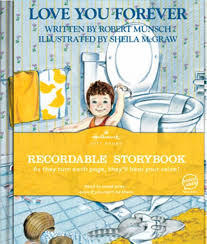 giveaway hallmark recordable book