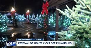 hamburg festival of lights fairgrounds festival of lights kicks off wkbw com buffalo ny