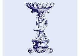 cherub ornament free vector stock graphics images