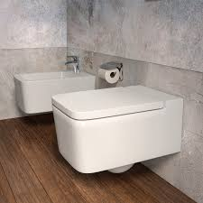 Square Toilet by Wall Hung Toilet Porcelain Inspira Square Roca Videos