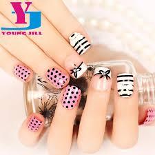 wholesale fake nails short manicure 3d finished product manicure