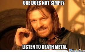 Death Metal Meme - death metal by connertrainkid meme center