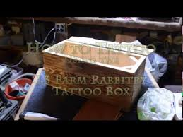 l3 farm rabbitry tattoo box youtube