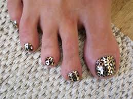 leopard print toe nail designs how you can do it at home