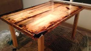 epoxy table top resin resin dining table teak and resin dining table on custom steel base