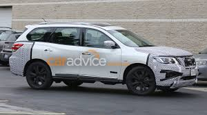 2016 nissan pathfinder 2016 nissan pathfinder spied testing photos 1 of 5