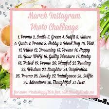 Challenge Instagram March Instagram Photo Challenge Charity Instagram