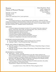 sle resume physical therapist 28 images therapists resume