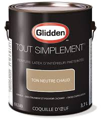 glidden simply stated interior paint pre tinted warm neutral