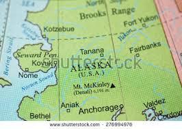 alaska on map alaska map stock images royalty free images vectors