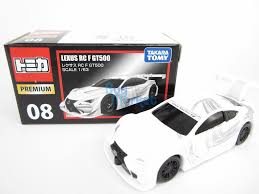 lexus rc f malaysia takara tomy tomica premium 08 lexus rc f gt500 scale 1 63 diecast