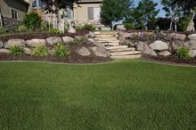 Landscaping Ideas For Large Backyards by Ideas For Landscaping A Hill Tips To Control Erosion On Slopes