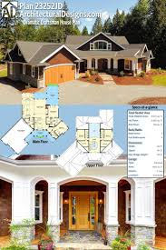 house plan chp 53189 at bungalow floor plans craft and house home craftsman plan