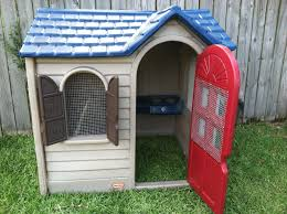 converted playhouse coop backyard chickens