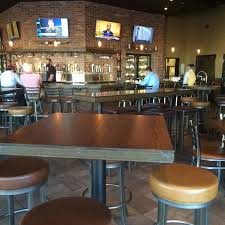 bar layout and seating picture of world of beer plano tripadvisor