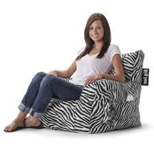 Big Joe Zebra Bean Bag Chair Zebra Bean Bag Chair Walmart Home Chair Decoration
