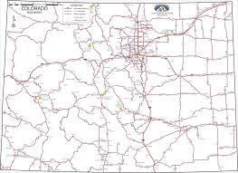 Colorado Map Of Cities by Colorado Highways Map Colorado U2022 Mappery