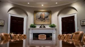 white house west wing gets new paint carpet and eagles